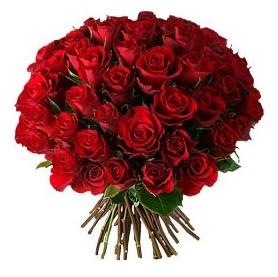 Aydın çiçek , çiçekçi , çiçekçilik  33 adet kırmızı gül buketi
