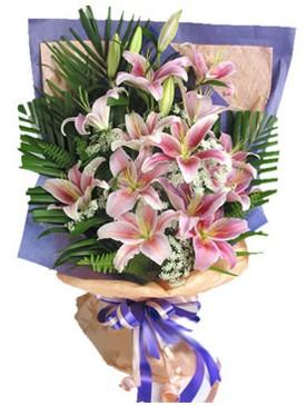 7 dal kazablankadan görsel buket  Aydın kaliteli taze ve ucuz çiçekler