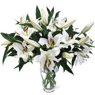 Aydın çiçekçi telefonları  3 dal görsel casablanca vazo tanzimi