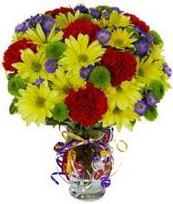 En güzel hediye karışık mevsim çiçeği  Aydın hediye çiçek yolla