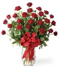 Sevgilime sıradışı hediye güller 24 gül  Aydın 14 şubat sevgililer günü çiçek