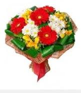1 demet karışık buket  Aydın hediye sevgilime hediye çiçek