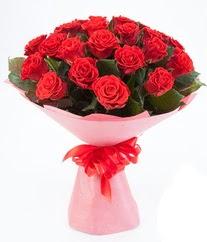 15 adet kırmızı gülden buket tanzimi  Aydın çiçek siparişi sitesi