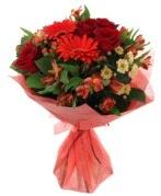 karışık mevsim buketi  Aydın internetten çiçek siparişi