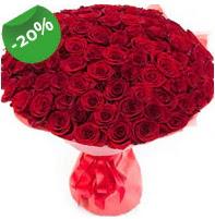 Özel mi Özel buket 101 adet kırmızı gül  Aydın anneler günü çiçek yolla