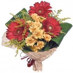 karışık mevsim buketi  Aydın çiçekçi mağazası