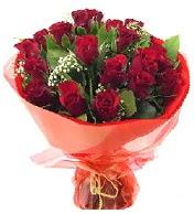 12 adet görsel bir buket tanzimi  Aydın çiçek siparişi vermek