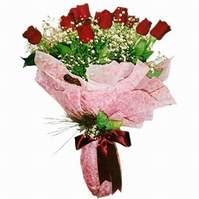 Aydın çiçek siparişi sitesi  12 adet kirmizi kalite gül