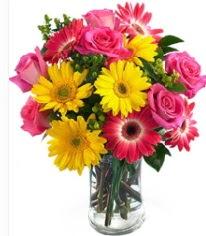 Vazoda Karışık mevsim çiçeği  Aydın çiçekçi mağazası