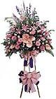 Aydın güvenli kaliteli hızlı çiçek   Ferforje Pembe kazablanka