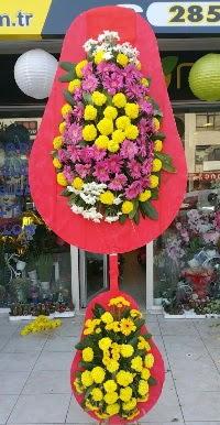 Çift katlı düğün nikah açılış çiçek modeli  Aydın online çiçek gönderme sipariş