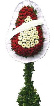 Çift katlı düğün nikah açılış çiçek modeli  Aydın İnternetten çiçek siparişi