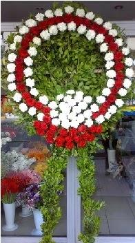 Cenaze çelenk çiçeği modeli  Aydın anneler günü çiçek yolla