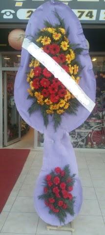 Çift katlı nikah düğüne çiçek modeli  Aydın internetten çiçek siparişi
