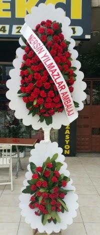 Çift katlı düğün nikah çiçeği modeli  Aydın hediye çiçek yolla