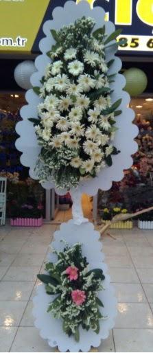 Çift katlı düğün nikah açılış çiçeği  Aydın çiçekçi telefonları