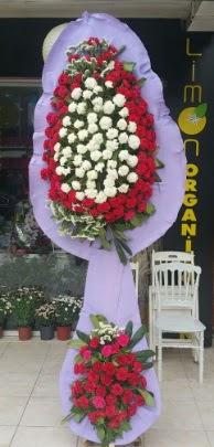 Çift katlı işyeri açılış çiçek modeli  Aydın ucuz çiçek gönder