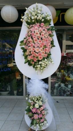 Çift katlı özel şahane sepet çiçeği  Aydın çiçekçi telefonları