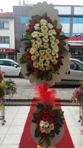 Çift katlı düğün açılış çiçeği  Aydın çiçek satışı