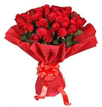 41 adet gülden görsel buket  Aydın çiçek satışı