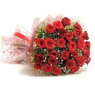 27 Adet kırmızı gül buketi  Aydın ucuz çiçek gönder