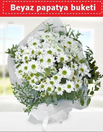 Beyaz Papatya Buketi  Aydın 14 şubat sevgililer günü çiçek