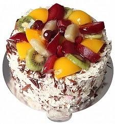 4 Kişilik Meyveli yaş pasta