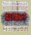 Aydın cicekciler , cicek siparisi  Sandikta 11 adet güller - sevdiklerinize en ideal seçim